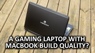 Venom Blackbook 15 Gaming Notebook - High Performance, Sleek Design