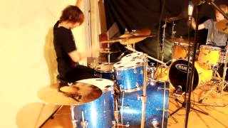 Invaders Must Die - Ed Williams & Matthias Spicer Drum Cover