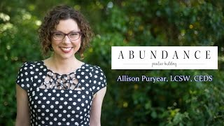 Abundance Practice Building with Allison Puryear, LCSW, EDS