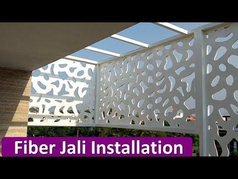 FIBER JALI  INSTALLATION FOR EXTERIOR