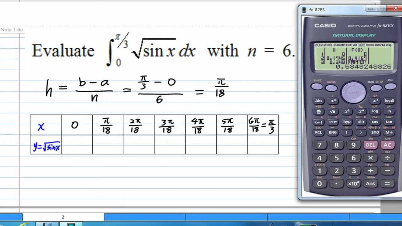 Numerical integration ppt video online download.