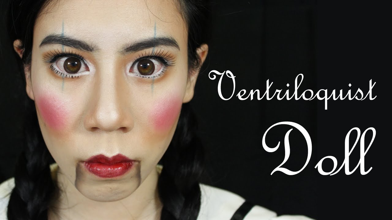 Halloween Ventriloquist Doll Dummy Makeup Tutorial ~ Fables in ...