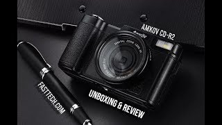 Video Amkov CD-R2 Digital Camera - Unboxing And Review download MP3, 3GP, MP4, WEBM, AVI, FLV Mei 2018