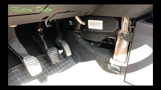 Schimbare Filtru de Polen - Ford Fiesta 2008 (MK6 - 1.4d)