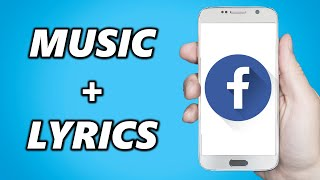 How to Add Music & Song Lyrics to Facebook Stories!