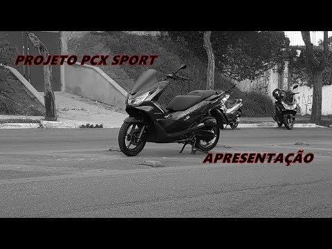 PCX 2017 PERSONALIZADA - PROJETO PCX SPORT FINALIZADO - BAYER´S GARAGE