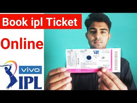 How To Book Ipl Ticket Online || Cricket Match Ticket Booking Online
