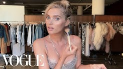Elsa Hosk Unveils the Victoria's Secret Fantasy Bra & Her Angel Makeup Look | Beauty Secrets