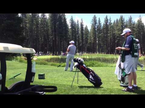 Injured Iraq War veteran plays in Tahoe celebrity golf event