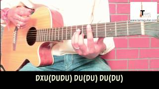Video Another brick in the wall style funk strumming pattern in style of David Gilmour guitar lesson download MP3, 3GP, MP4, WEBM, AVI, FLV Mei 2018