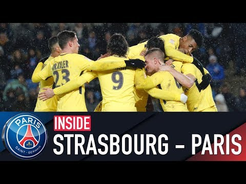 INSIDE - STRASBOURG vs PARIS SAINT-GERMAIN with LO CELSO