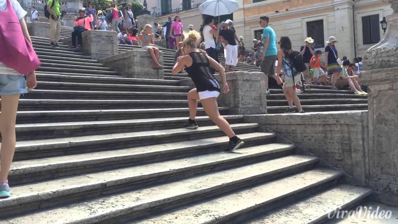 Ejercicios en escaleras para adelgazar