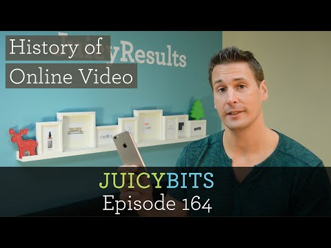 The History of Online Video - #juicybits 164