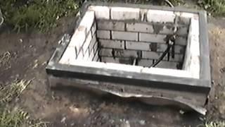 видео Как сделать кессон для скважины своими руками