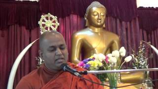 Ven. Talalle Chandakitthi Thero at Ehipasskio Buddhist Centre - Calgary Day 4