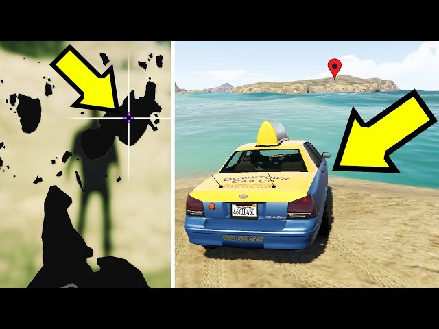 ماذا سيحدث إذا أرسلنا سائق تاكسي إلى جزيرة معزولة في جي تي أي 5 ؟ | GTA V Taxi Driver