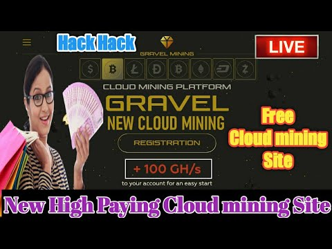 Omg????Hack New Bitcoin Cloud Mining Site Daily 1000$ Earning Gravel.ltd Site Without Investment 2020