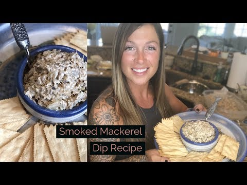 SMOKED MACKEREL DIP Recipe! Whipping It Up With BRIT