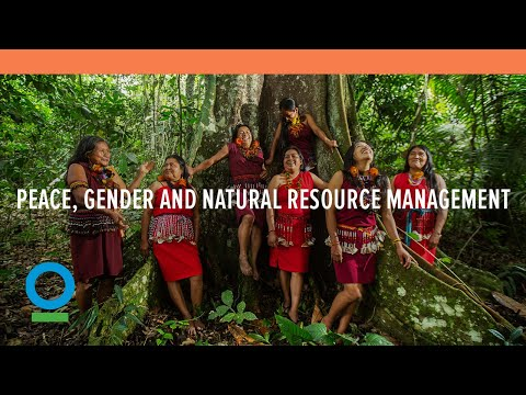 Peace, Gender and Natural Resource Management | Conservation International (CI)