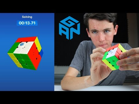 Gan 356i Unboxing, the Smart *Speed* Cube