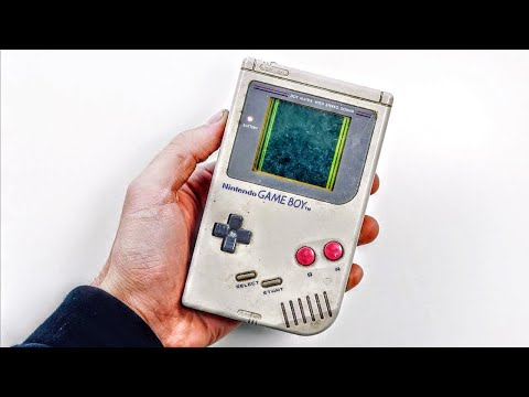 DIRTY 1989 Nintendo GameBoy Restoration!
