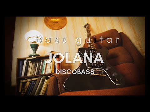 Jolana Disco Bass Vintage GDR Soviet USSR Guitar RD