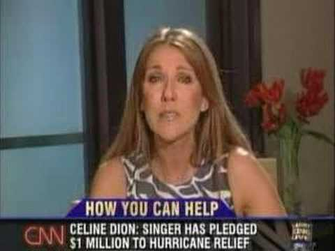 Celine Dion on Larry King Live