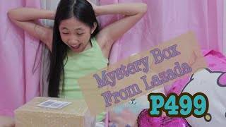 P499 Lazada Mystery Box // Kids Girls Edition (philippines)