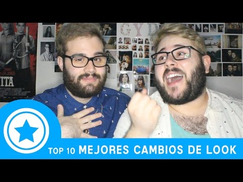 TOP 10 CAMBIOS DE LOOK EN SERIES | Zavid