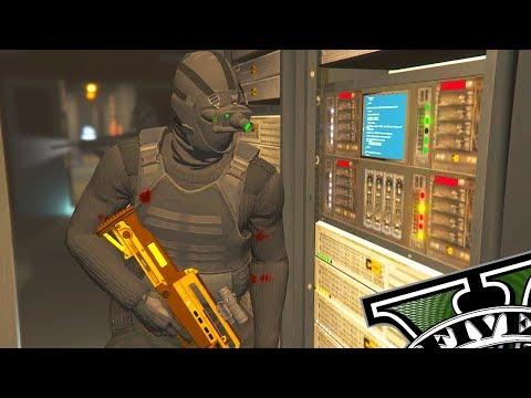 GTA V Online DLC Nova Missão #3 - Invasão dos Hackers