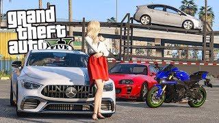 NUOVE AUTO E MOTO!! - GTA 5 MOD VITA REALE³ #42