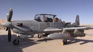 A-29 Super Tucano Preflight Ops – Single-engine Military Turboprop
