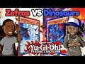 Yu-Gi-Oh Duel! Zefras VS Dinosaurs (60-Card) May 2018 Format!