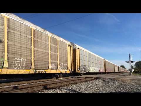 Norfolk Southern 288 Northbound Autorack Train with ALL BNSF Power & ACe Leader in Mabelton, GA from YouTube · High Definition · Duration:  2 minutes 24 seconds  · 387 views · uploaded on 8/1/2015 · uploaded by ems318