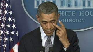 Connecticut School Shooting at Sandy Hook Elementary: Obama's Emotional Address 'Hearts Are Broken' thumbnail