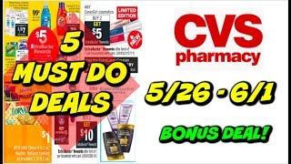 5 MUST DO CVS DEALS 5/26 - 6/1 | FREE HAIR CARE, MONEYMAKER MAKEUP, CHEAP TIDE & MORE!