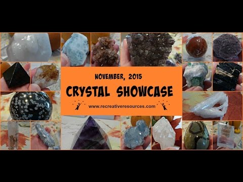 November Crystal Showcase, 2015  (Crystals for Sale)