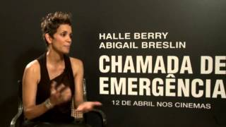 Promoting Her New Movie The Call - Halle Berry Talks About Pregnancy In Brazil Nahla Aubry
