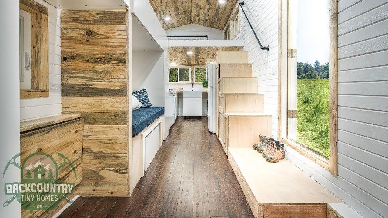 The Juniper Tiny House Interior Exterior Youtube