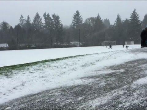 Raw: Snow, Freezing Rain Hit Portland