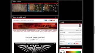 Как установить ultimate apocalypse mod на Dawn of War: Soulstorm