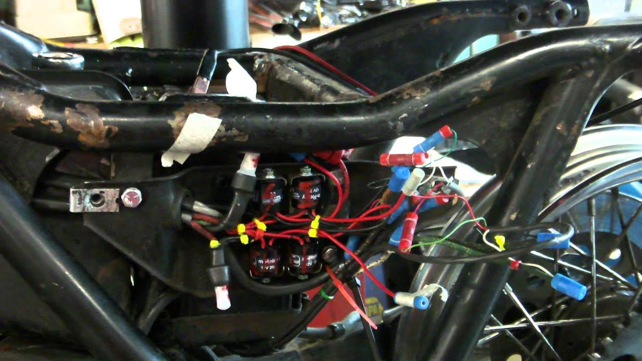 shovelhead wiring harness wiring diagram \u2022 alpine stereo harness walk around freshly rewired 1983 fxr shovel head youtube rh youtube com 1985 harley fxr wiring harness 1979 shovelhead wiring harness