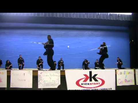 MUST WATCH GRAND FINALE!! :D Jane Long middle school  Kick-start Demo Team 2011