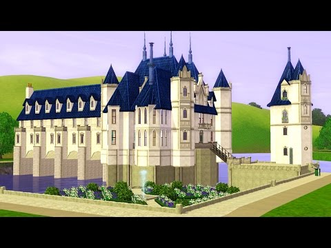 The Sims 3: CHATEAU DE CHENONCEAU - House Tour!