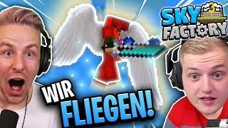 WIR können ENDLICH fliegen dank der NEUEN OP RÜSTUNG!! SKYFACTORY 3!