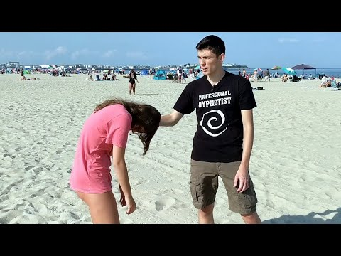 Impromptu Beach Hypnosis FULL Performance | Street Hypnosis Approach, Induction, & Routines