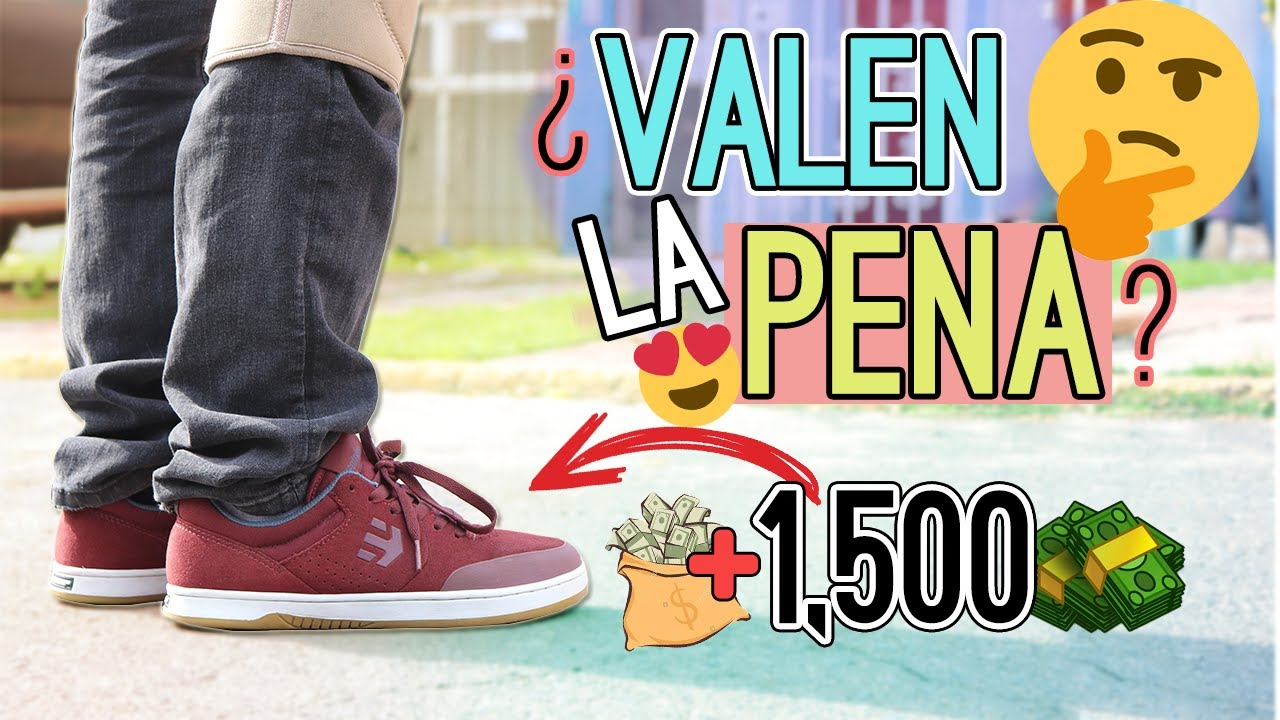 PATINO con MIS TENIS que CUESTAN MÁS DE 1300$ PESOS! | Etnies Marana