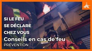 CONSEILS EN CAS DE FEU : ÉVITER LA PROPAGATION DES FLAMMES