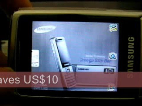 Samsung L700 Quadband 3G Unlocked Phone