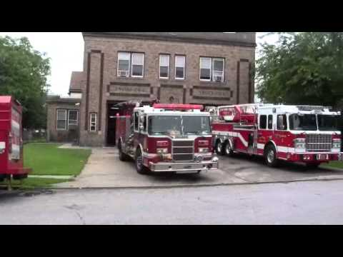Bayonne, NJ Engine 1 Responding 06-09-12
